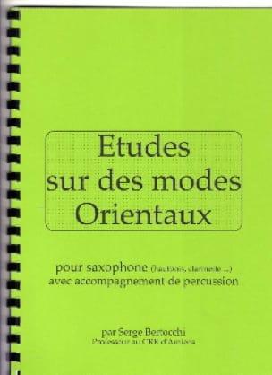 Serge Bertocchi - Studies on Oriental Modes - Partition - di-arezzo.co.uk