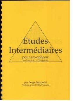 Serge Bertocchi - Intermediate studies - Partition - di-arezzo.co.uk