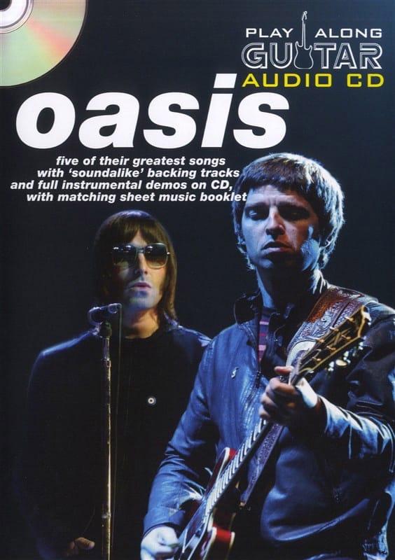 Play Along Guitar Audio CD - Oasis - Partition - laflutedepan.com