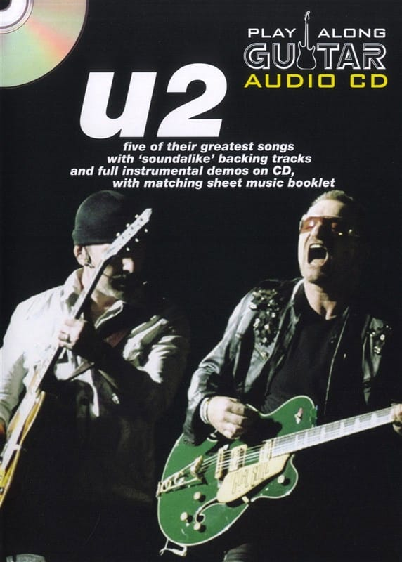 U2 - Play Along Guitar Audio CD - Partition - di-arezzo.co.uk