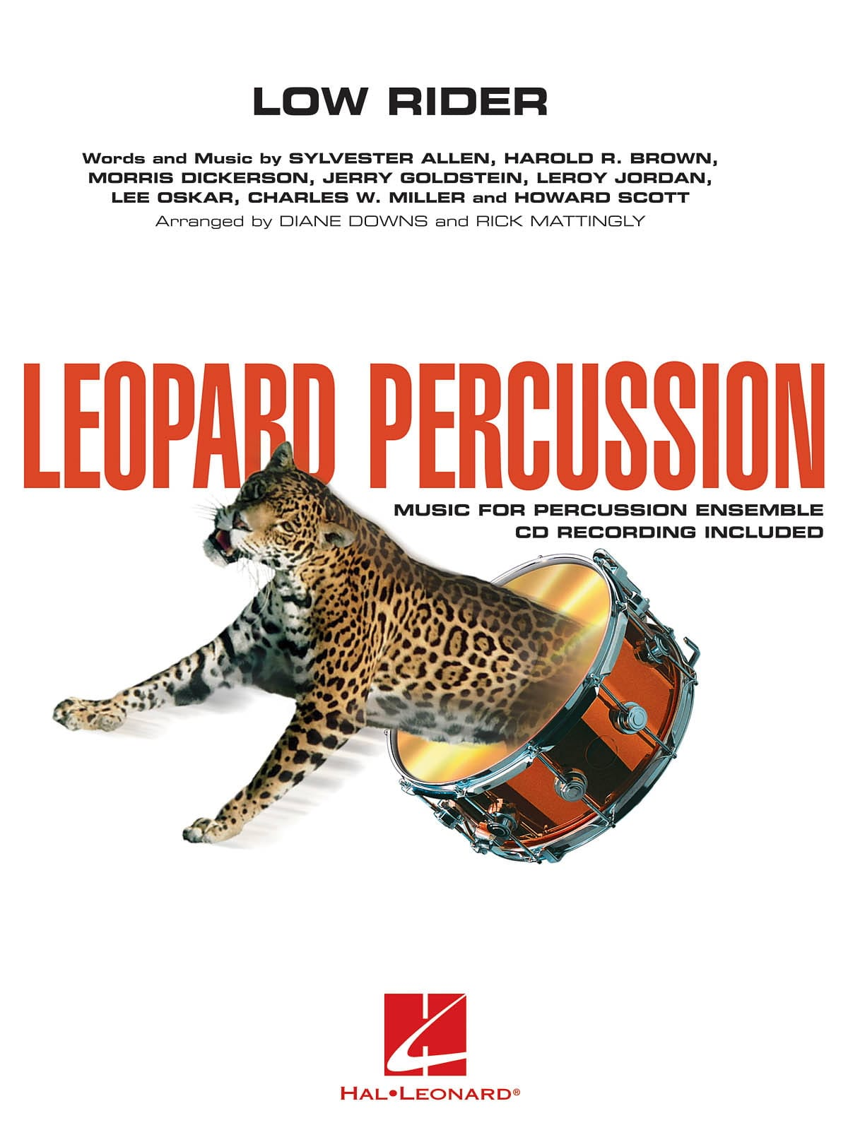 - Low Rider - Leopard Percussion - Partition - di-arezzo.co.uk