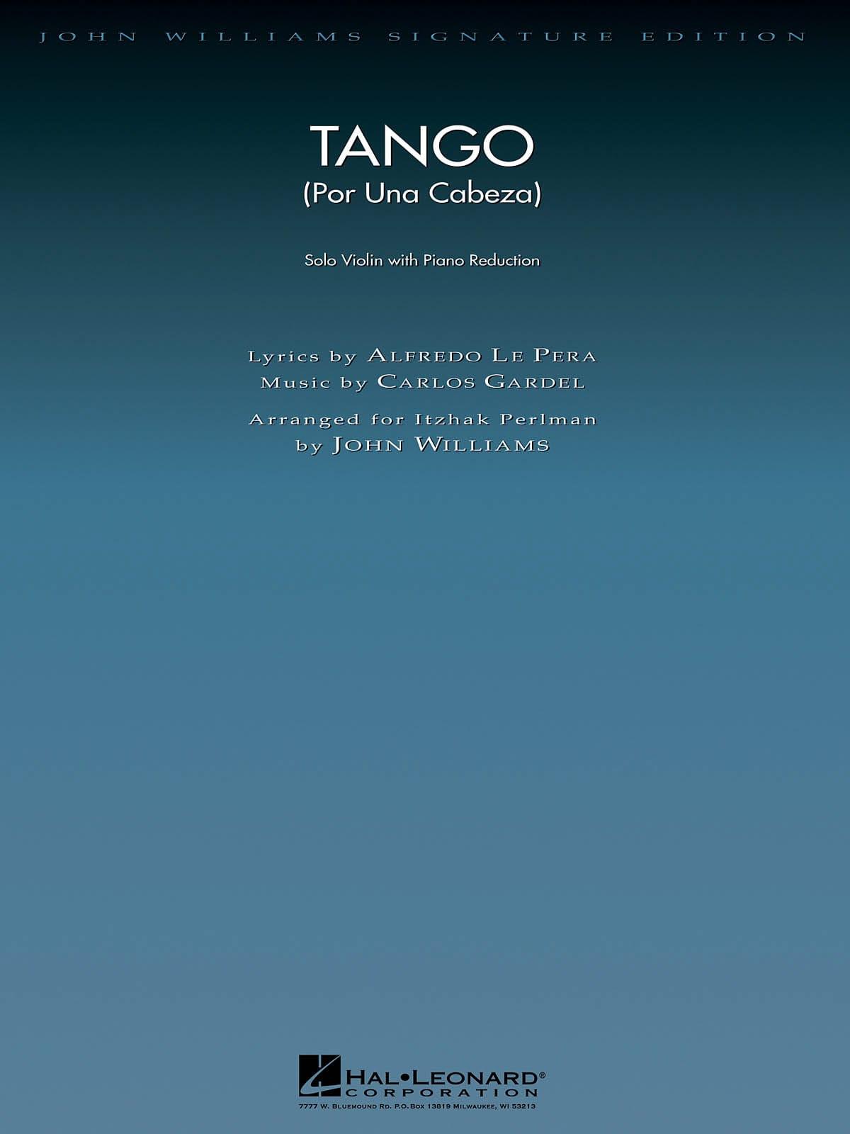 Tango Por Una Cabeza - Carlos Gardel - Partition - laflutedepan.com