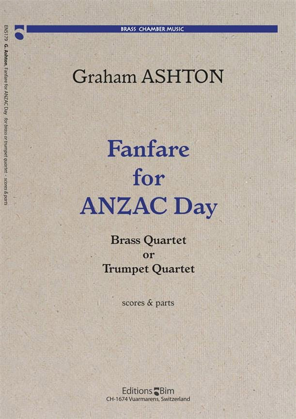 Fanfare For Anzac Day - Graham Ashton - Partition - laflutedepan.com