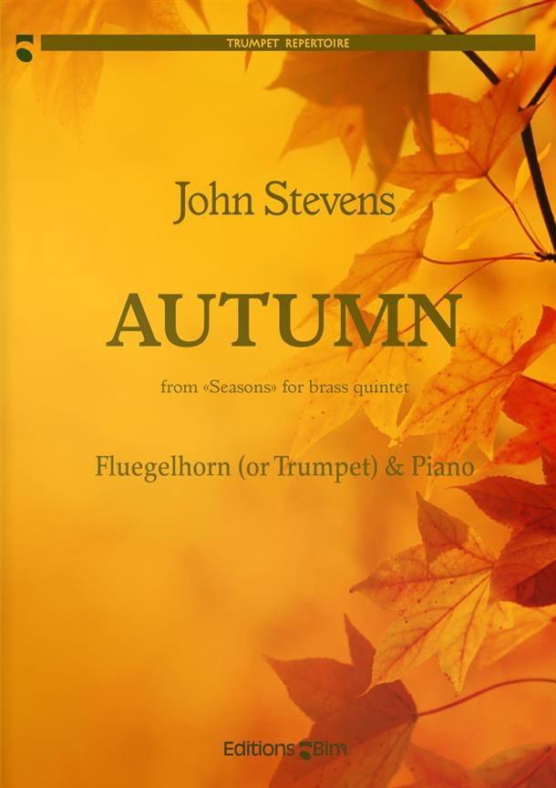 Autumn - John Stevens - Partition - Trompette - laflutedepan.com