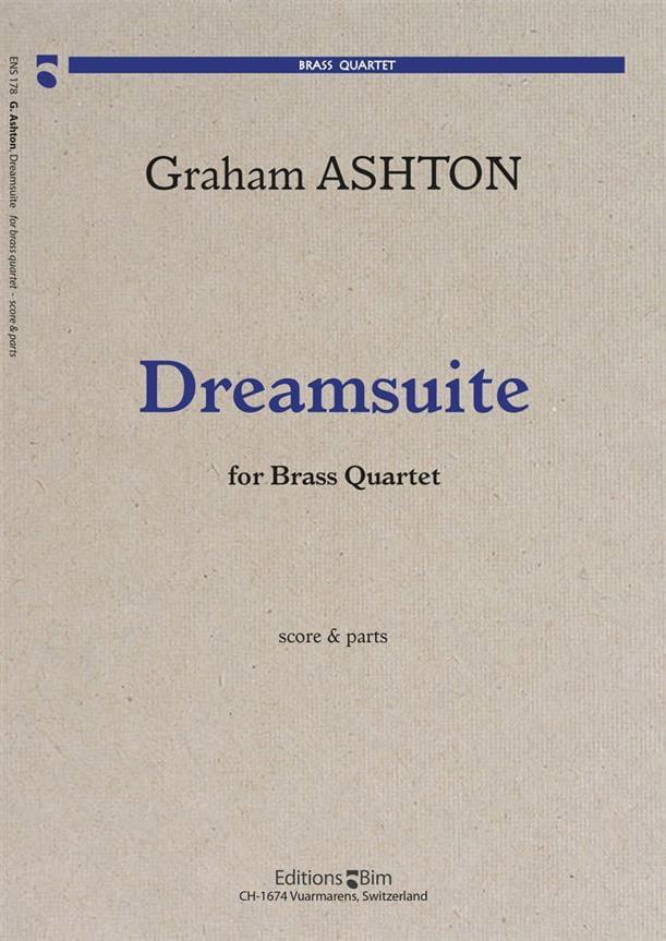 Dreamsuite - Graham Ashton - Partition - laflutedepan.com
