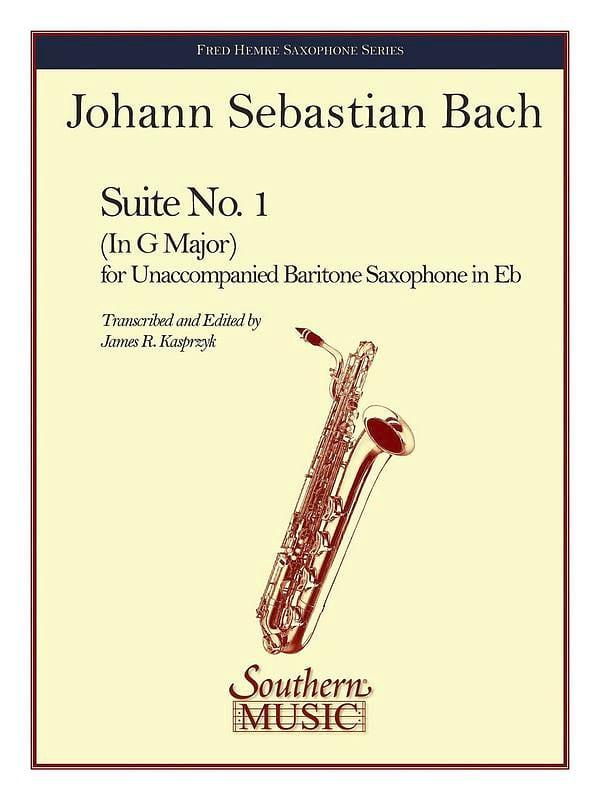 Suite N° 1 - BACH - Partition - Saxophone - laflutedepan.com