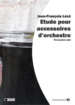Etude Pour Accessoires D' Orchestre - laflutedepan.com