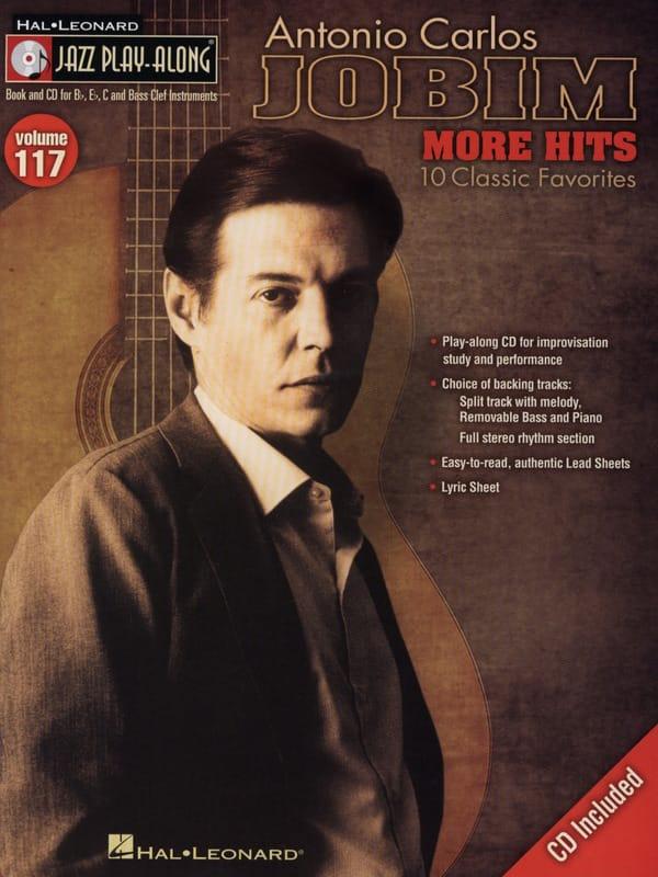 Antonio Carlos Jobim - Jazz play-along volume 117 - Antonio Carlos Jobim - More Hits - Partition - di-arezzo.co.uk