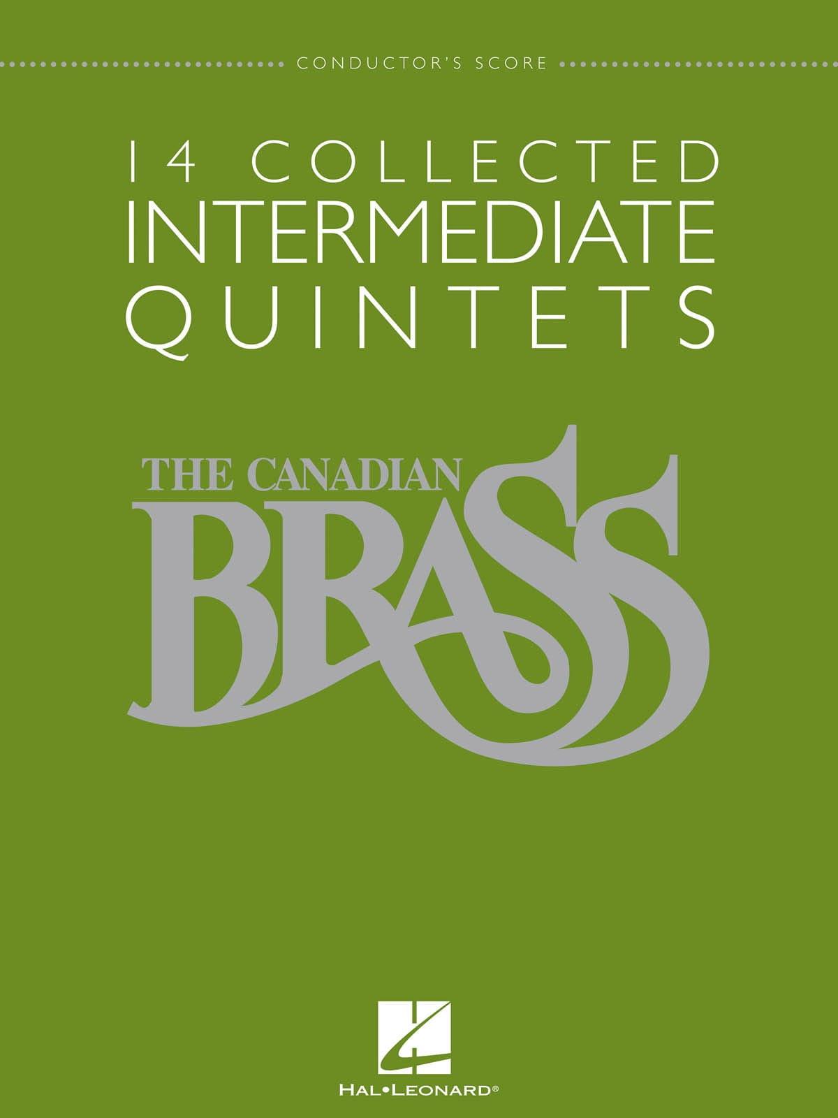 14 Collected Intermediate Quintets - Partition - laflutedepan.com