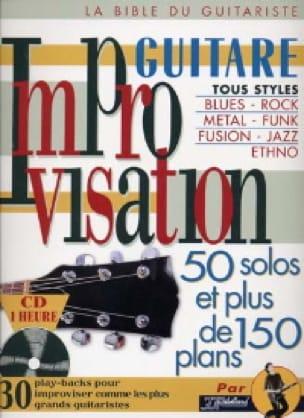 Jean-Jacques Rébillard - Improvisation guitar - Partition - di-arezzo.co.uk