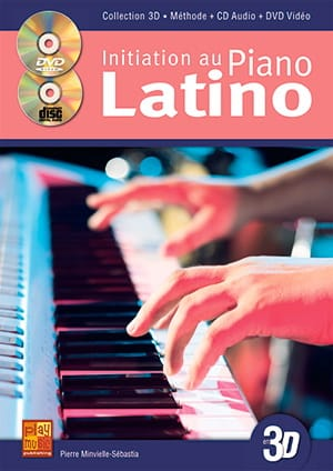 Initiation au piano latino en 3D - laflutedepan.com