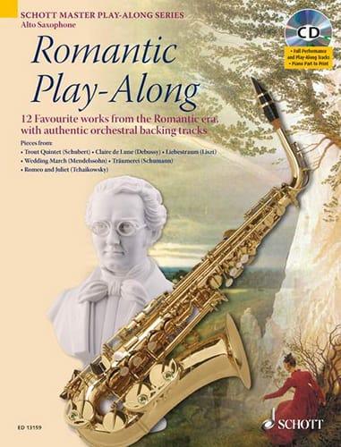 Romantic Play-Along - Partition - Saxophone - laflutedepan.com
