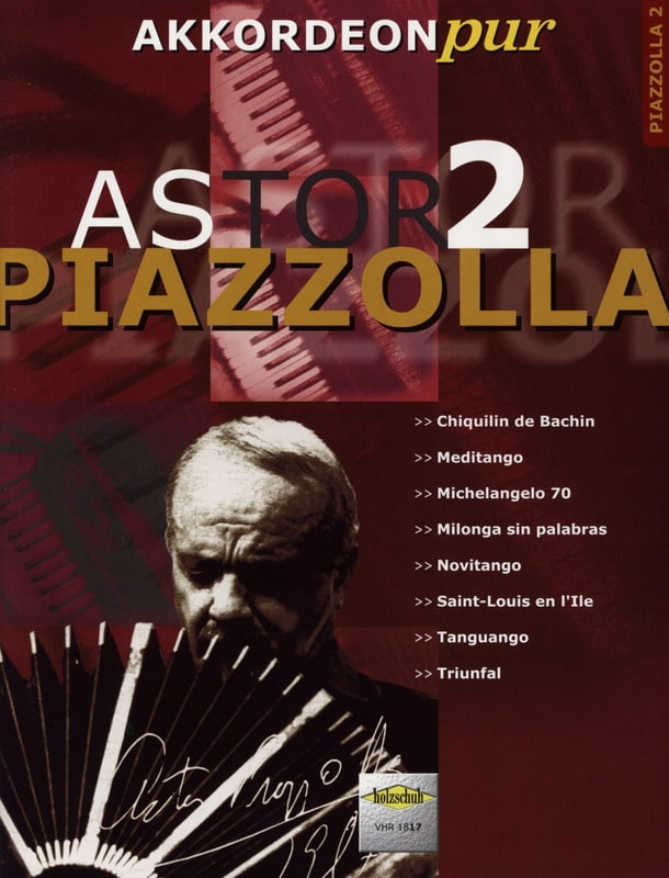 Akkordeon Pur - Astor Piazzolla 2 - Astor Piazzolla - laflutedepan.com