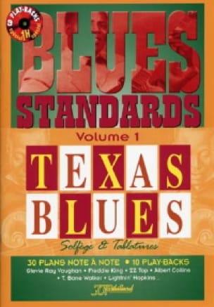 Jean-Jacques Rébillard - Blues Standard Volume 1 - Texas Blues - Partition - di-arezzo.co.uk