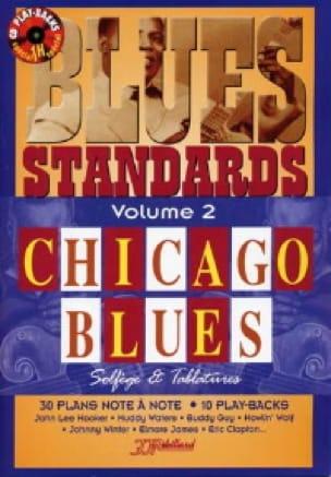 Jean-Jacques Rébillard - Blues Standard Volume 2 - Chicago Blues - Partition - di-arezzo.co.uk