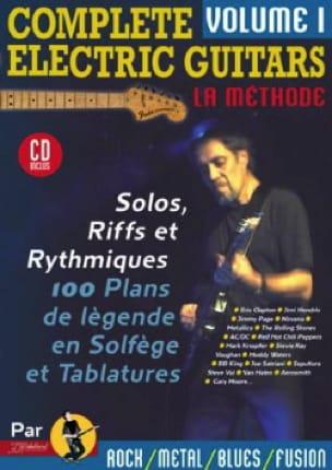 Jean-Jacques Rébillard - Complete electric guitars volume 1 - Partition - di-arezzo.co.uk