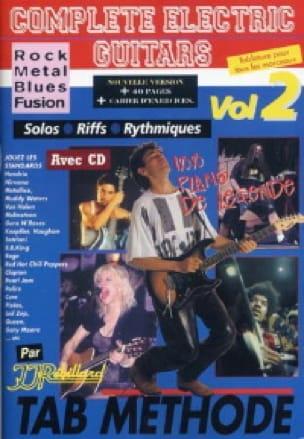 Jean-Jacques Rébillard - Complete electric guitars volume 2 - Partition - di-arezzo.fr