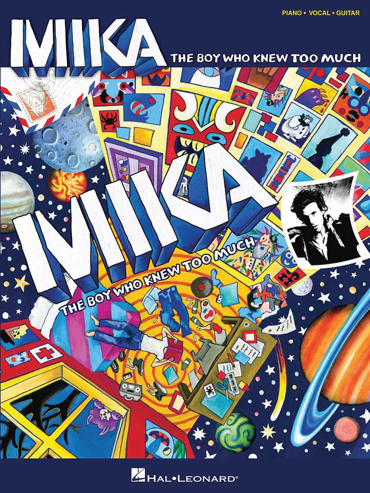 Mika - The Boy Who Knew Too Much - Partition - di-arezzo.co.uk