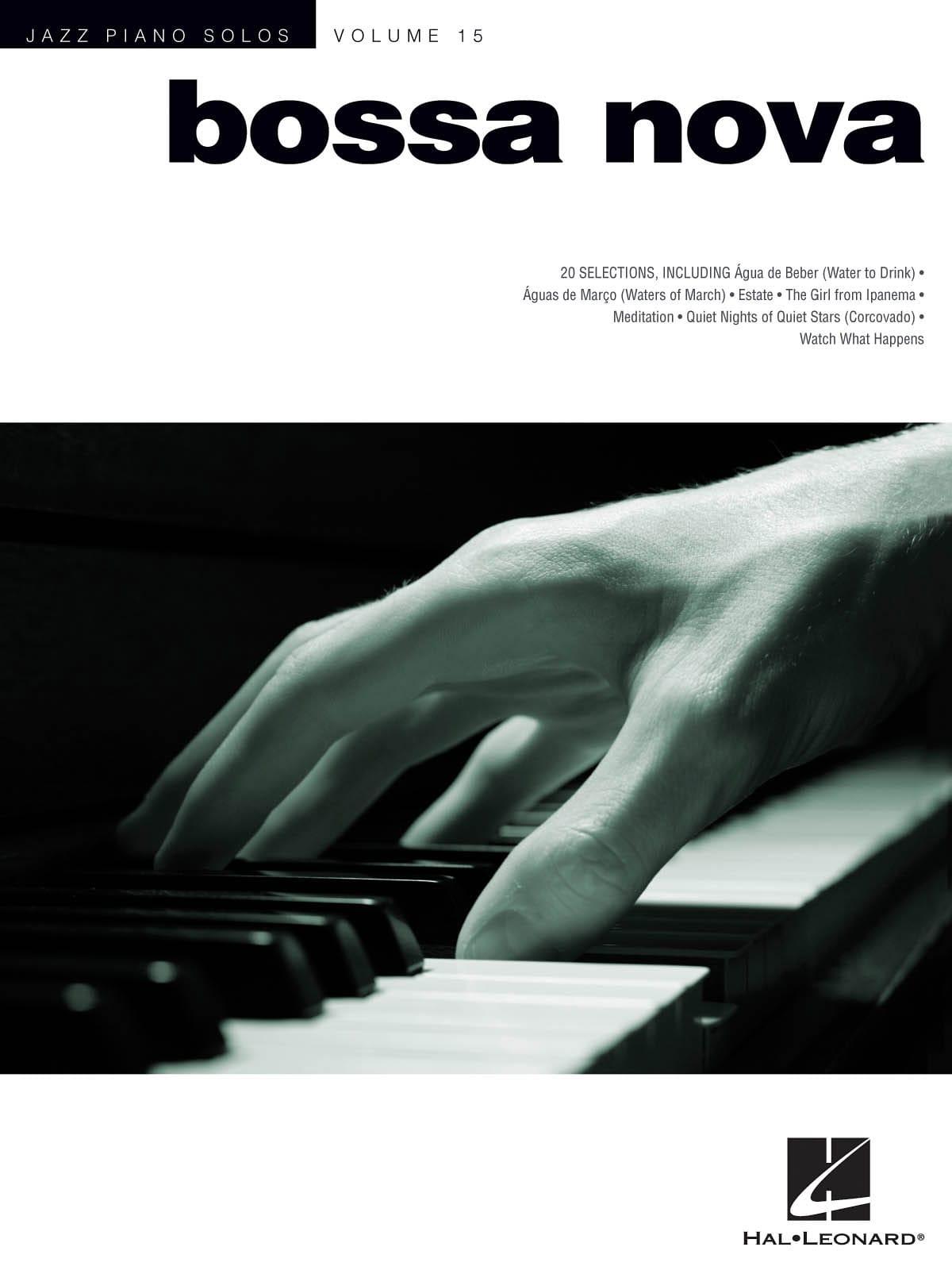 Jazz Piano Solos Volume 15 - Bossa Nova - laflutedepan.com