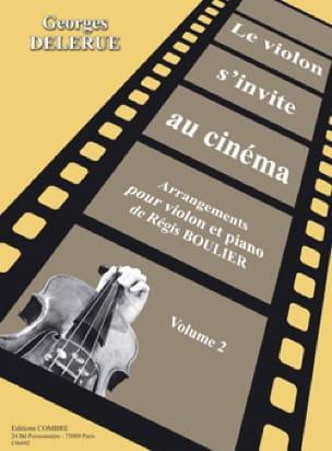 Georges Delerue - The violin invites itself to the cinema volume 2 - Partition - di-arezzo.com