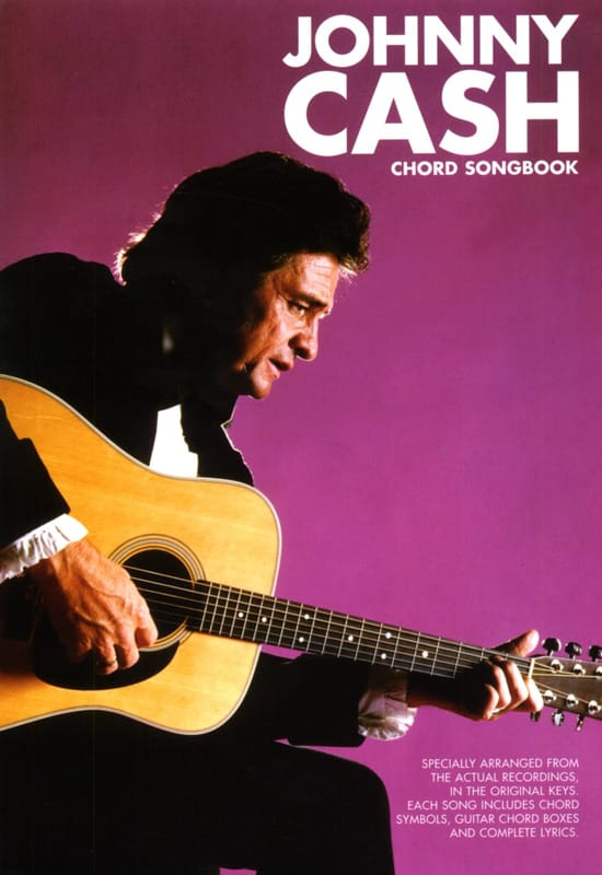 Johnny Cash - Chord Songbook - Partition - di-arezzo.co.uk