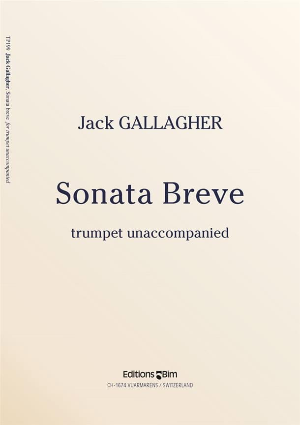 Sonata Breve - Jack Gallagher - Partition - laflutedepan.com