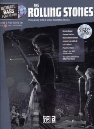 ROLLING STONES - Ultimate Bass Play-Along - Partition - di-arezzo.co.uk