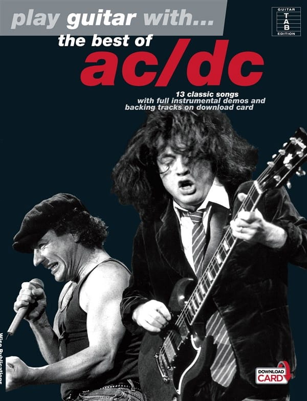 AC-DC - Play Guitar With ... The Best Of AC / DC - Partition - di-arezzo.co.uk