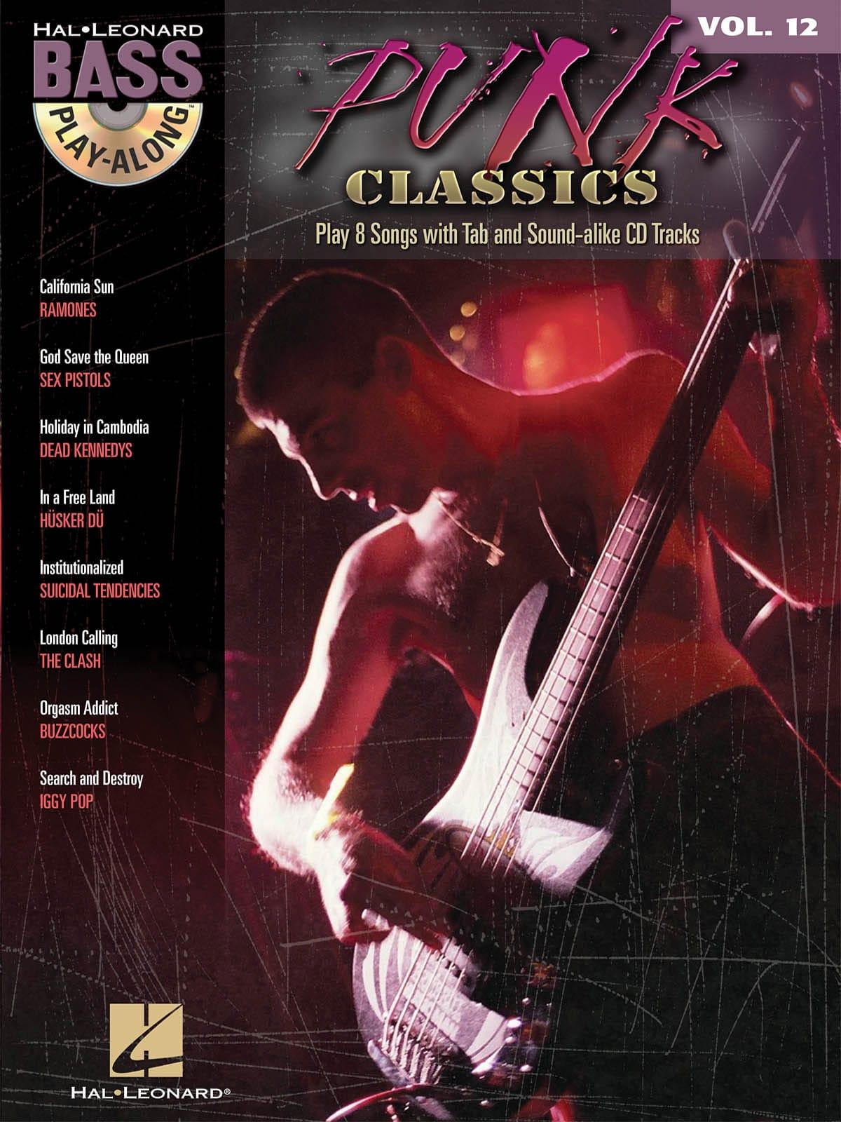 - Bass Play-Along Volume 12 - Punk Classics - Partition - di-arezzo.co.uk