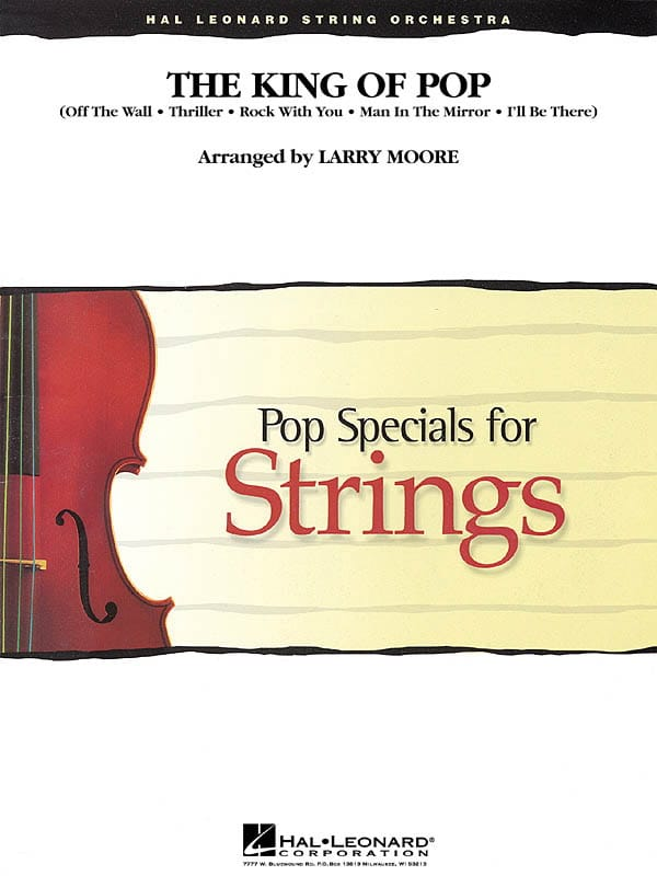Michael Jackson - The King Of Pop - Specials For Strings - Partition - di-arezzo.co.uk