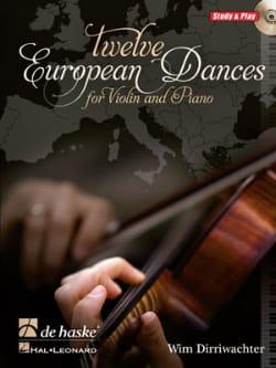 Twelve European Dances - Wim Dirriwachter - laflutedepan.com