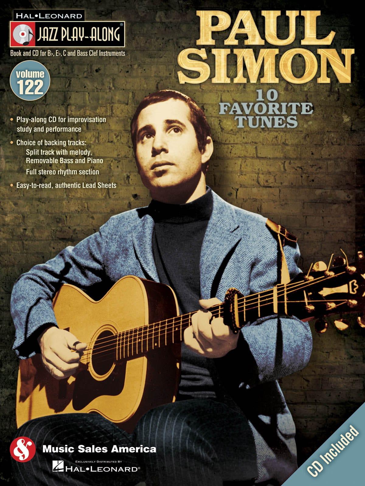 Jazz play-along volume 122 - Paul Simon - laflutedepan.com