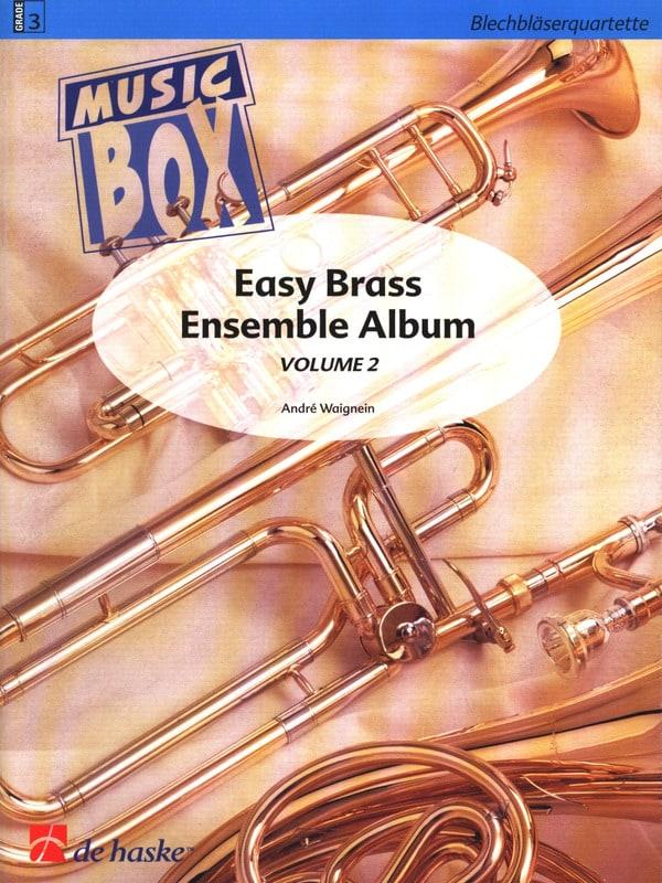 Easy brass ensemble album volume 2 - music box - laflutedepan.com