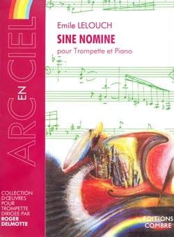Emile Lelouch - Sine Nomine - Partition - di-arezzo.co.uk
