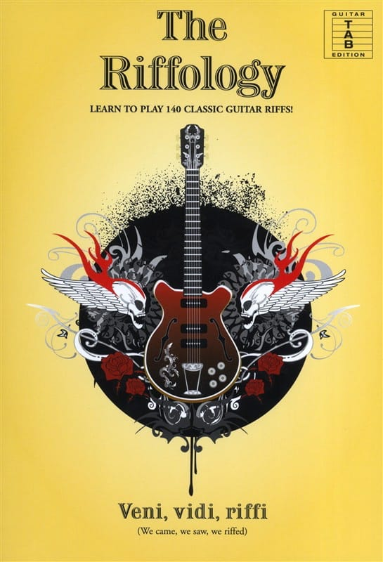 The Riffology - Learn To Play 140 Classic Guitar Riffs! - laflutedepan.com