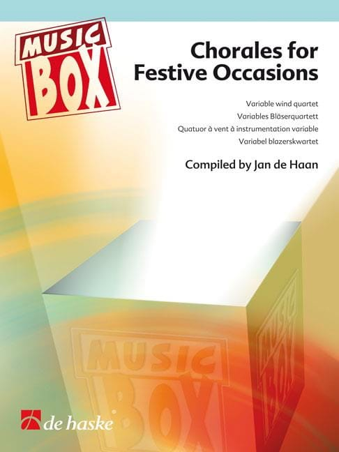 Chorales for festive occasions - music box - laflutedepan.com