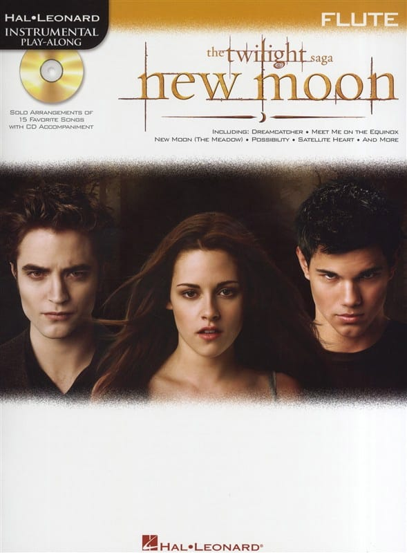 - The New Moon Twilight Saga - Instrumental play-along - Partition - di-arezzo.co.uk