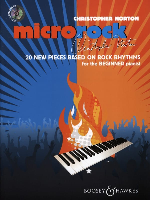 Microrock - christopher Norton - Partition - Piano - laflutedepan.com