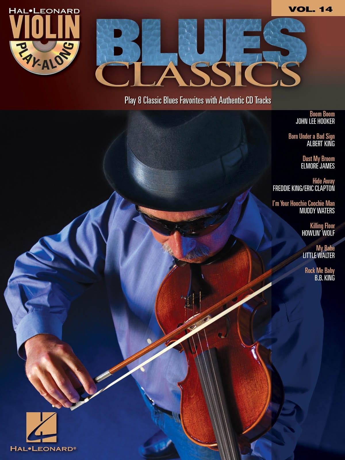 Violin play-along volume 14 - Blues Classics - laflutedepan.com