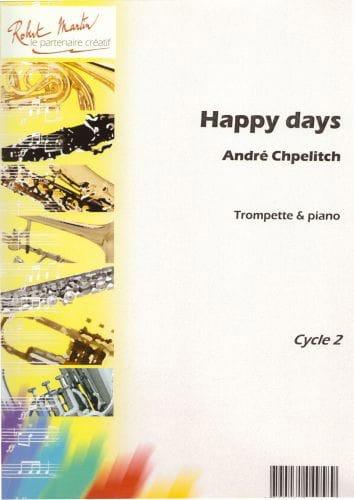 Happy Days - André Chpelitch - Partition - laflutedepan.com