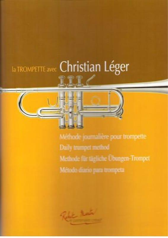 Christian Léger - La trompette avec Christian Léger - Partition - di-arezzo.fr