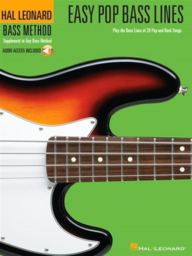 Easy Pop Bass Lines - Partition - Guitare - laflutedepan.com
