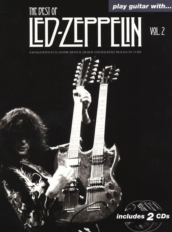 Led Zeppelin - Play Guitar With... The Best Of Led Zeppelin - Volume 2 - Partition - di-arezzo.fr