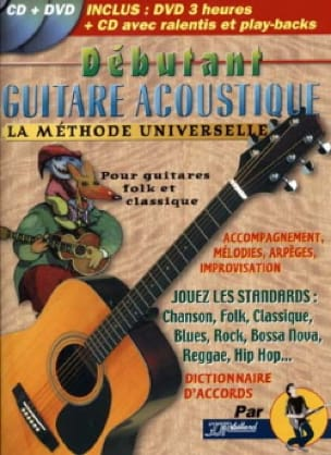 Jean-Jacques Rébillard - Débutant guitare acoustique - Partition - di-arezzo.fr