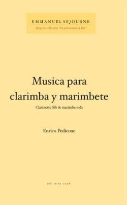 Musica Para Clarimba Y Marimbete - Enrico Pedicone - laflutedepan.com