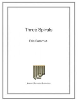 Eric Sammut - Three Spirals - Partition - di-arezzo.com
