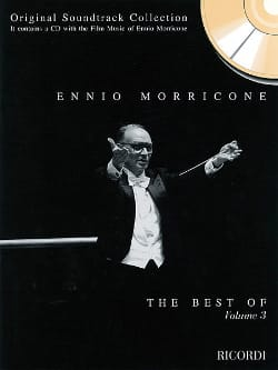 Ennio Morricone - The Best Of Volume 3 - Partition - di-arezzo.co.uk