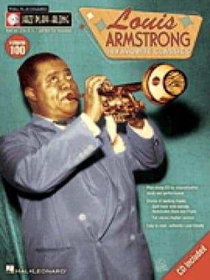 Jazz play-along volume 100 - Louis Armstrong - laflutedepan.com