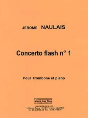 Concerto flash n° 1 - Jérôme Naulais - Partition - laflutedepan.com