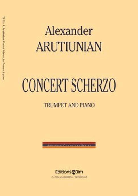 Concert Scherzo - Alexander Arutiunian - Partition - laflutedepan.com